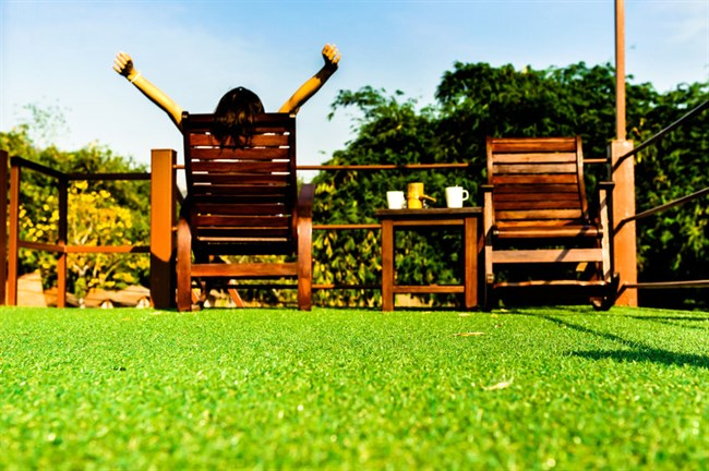Order 30mm or 25mm Artificial Turf for your Garden Online