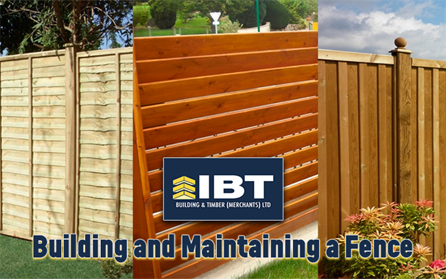 BUILDING AND MAINTAINING A FENCE