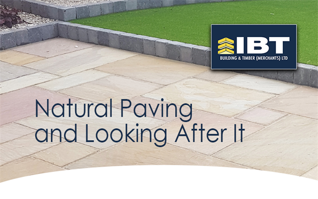NATURAL PAVING AND LOOKING AFTER IT