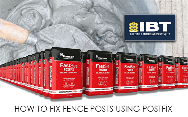 HOW TO FIX FENCE POSTS USING POSTFIX