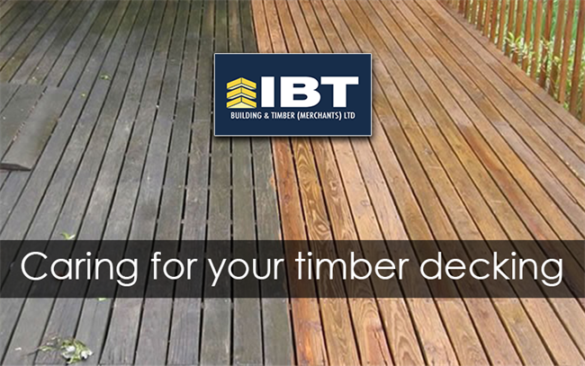 CARING FOR YOUR TIMBER DECKING